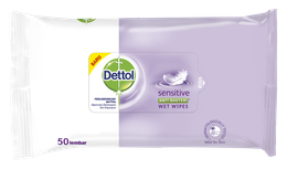 Dettol Anti Bakteri Wet Wipes Sensitive